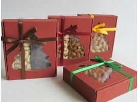 Kalėdiniai riešutų ir džiovintų uogų rinkiniai, 350 g
